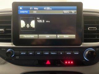 2020 Hyundai Venue QX MY20 Elite The Denim & Chalk White Roof 6 Speed Automatic Wagon