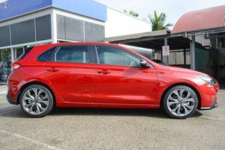 2021 Hyundai i30 PD.V4 MY21 N Line D-CT Premium Red 7 Speed Sports Automatic Dual Clutch Hatchback