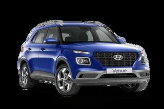 2021 Hyundai Venue Base Active Intense Blue 6 Speed Automatic SUV