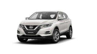 2021 Nissan Qashqai J11 Series 3 MY20 ST X-tronic Ivory Pearl 1 Speed Constant Variable Wagon.