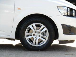 2013 Holden Barina TM MY13 CD Alaskan White 6 Speed Automatic Hatchback