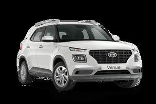 2021 Hyundai Venue Base Venue Polar White 6 Speed Automatic SUV