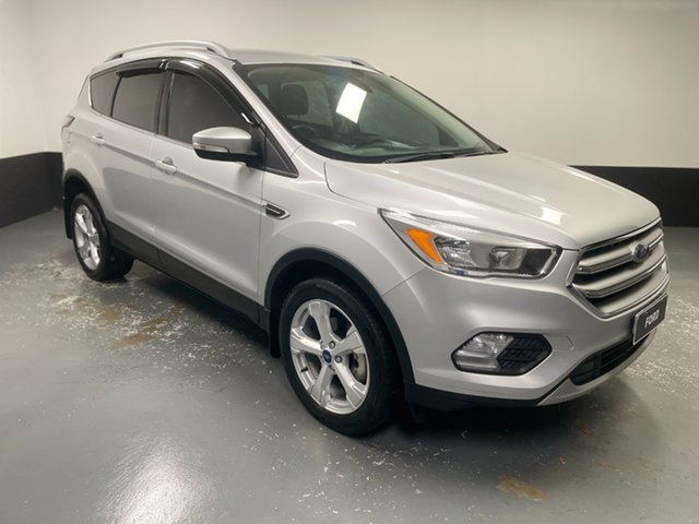 Used Ford Escape ZG 2018.00MY Trend Cardiff, 2017 Ford Escape ZG 2018.00MY Trend Moondust Silver 6 Speed Sports Automatic SUV