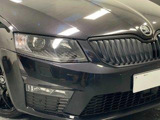 2016 Skoda Octavia NE MY16 RS DSG 162TSI Black 6 Speed Sports Automatic Dual Clutch Wagon.