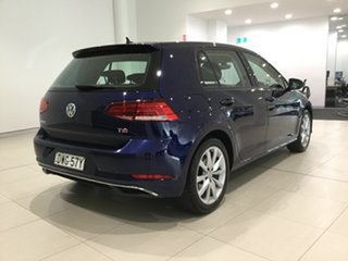 2017 Volkswagen Golf 7.5 MY18 110TSI DSG Comfortline Atlantic Blue 7 Speed.