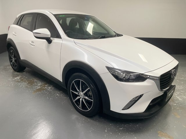 Used Mazda CX-3 DK2W7A Maxx SKYACTIV-Drive Cardiff, 2018 Mazda CX-3 DK2W7A Maxx SKYACTIV-Drive White 6 Speed Sports Automatic Wagon