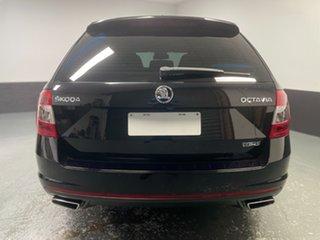 2016 Skoda Octavia NE MY16 RS DSG 162TSI Black 6 Speed Sports Automatic Dual Clutch Wagon