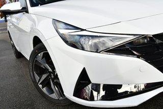 2021 Hyundai i30 CN7.V1 MY21 Active Polar White 6 Speed Sports Automatic Sedan.