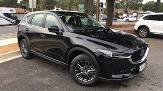 2021 Mazda CX-5 KF2W7A Maxx SKYACTIV-Drive FWD Sport Jet Black 6 Speed Sports Automatic Wagon.