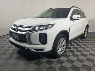 2019 Mitsubishi ASX XD MY20 LS 2WD White 1 Speed Constant Variable Wagon.