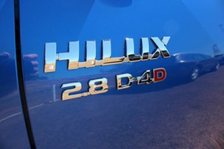 2019 Toyota Hilux GUN126R SR5 Double Cab Nebula Blue 6 Speed Automatic Dual Cab