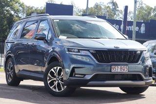 2020 Kia Carnival KA4 MY21 SLi Astra Blue 8 Speed Sports Automatic Wagon.