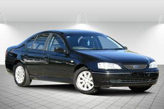 2004 Ford Falcon BA Futura Absolute Black 4 Speed Sports Automatic Sedan.