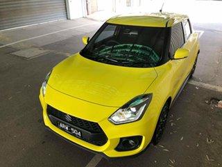 2018 Suzuki Swift AZ Sport Yellow 6 Speed Sports Automatic Hatchback