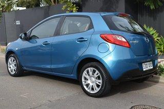 2013 Mazda 2 DE10Y2 MY13 Neo Blue 5 Speed Manual Hatchback.