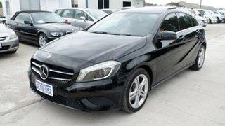 2014 Mercedes-Benz A-Class W176 A180 D-CT Black 7 Speed Sports Automatic Dual Clutch Hatchback.
