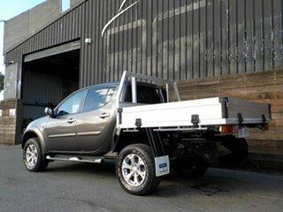 2013 Mitsubishi Triton MN MY14 GLX-R Double Cab Bronze 5 Speed Sports Automatic Utility