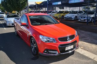 2015 Holden Ute VF MY15 SV6 Storm Red 6 Speed Manual Utility.