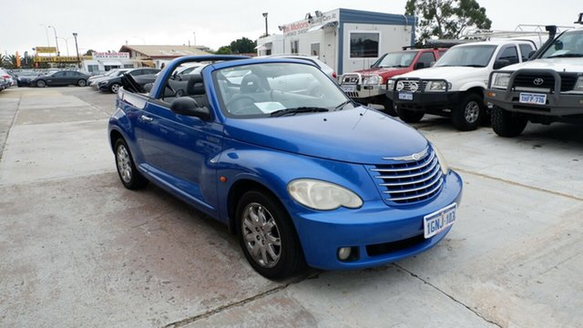 Used Chrysler PT Cruiser PG MY2006 Limited St James, 2006 Chrysler PT Cruiser PG MY2006 Limited Blue 4 Speed Sports Automatic Convertible
