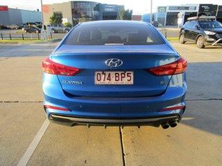 2018 Hyundai Elantra AD MY18 SR DCT Turbo Blue 7 Speed Sports Automatic Dual Clutch Sedan