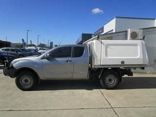 2015 Mazda BT-50 UP0YF1 XT Freestyle Silver 6 Speed Sports Automatic Cab Chassis