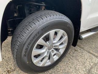 2015 Volkswagen Amarok 2H MY16 TDI400 4MOT Core White 6 Speed Manual Utility