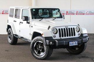 2014 Jeep Wrangler JK MY14 Polar 5 Speed Automatic Softtop.