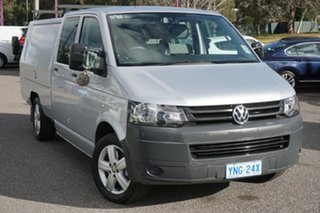 2010 Volkswagen Transporter T5 MY11 LWB DSG Reflex Silver 7 Speed Sports Automatic Dual Clutch.