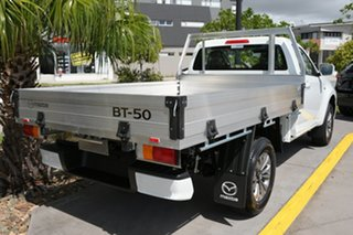 2020 Mazda BT-50 TFS40J XT Ice White 6 Speed Manual Cab Chassis.