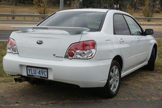 2007 Subaru Impreza S MY07 AWD White 4 Speed Automatic Sedan