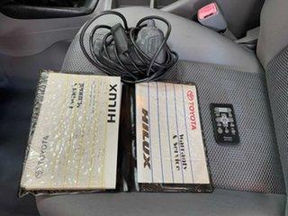 2009 Toyota Hilux KUN26R MY10 SR White 5 Speed Manual Utility