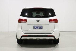 2018 Kia Carnival YP MY18 Platinum White 6 Speed Automatic Wagon