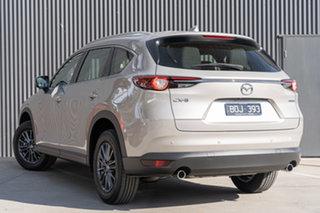 2021 Mazda CX-8 KG2WLA Sport SKYACTIV-Drive FWD Platinum Quartz Metallic 6 Speed Sports Automatic