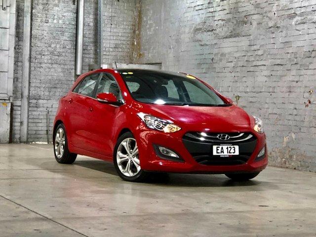 Used Hyundai i30 GD Premium Mile End South, 2013 Hyundai i30 GD Premium Red 6 Speed Sports Automatic Hatchback