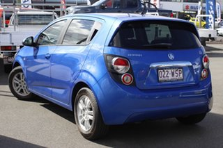 2016 Holden Barina TM MY16 CD Blue 6 Speed Automatic Hatchback.