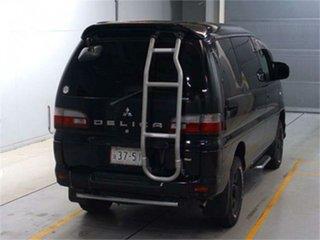 2005 Mitsubishi Delica PD6W Spacegear Chamonix Black Automatic Van Wagon