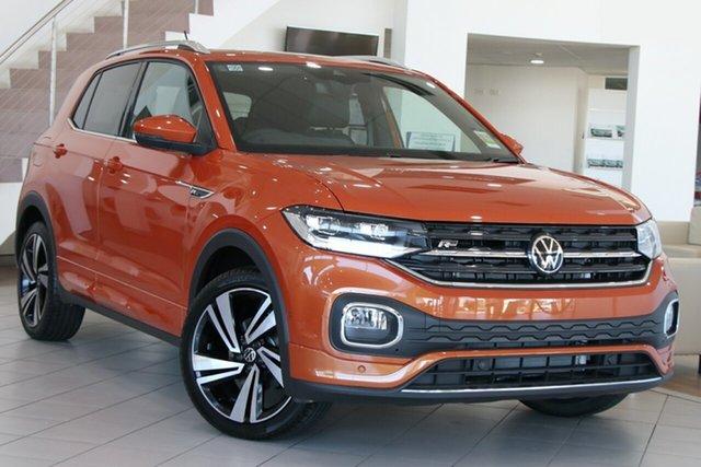 New Volkswagen T-Cross C1 MY21 85TSI DSG FWD Style Maitland, 2021 Volkswagen T-Cross C1 MY21 85TSI DSG FWD Style Energetic Orange 7 Speed