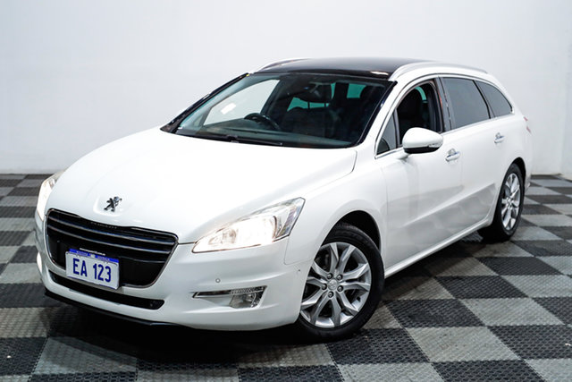 Used Peugeot 508 MY13 Allure Touring Edgewater, 2014 Peugeot 508 MY13 Allure Touring White 6 Speed Sports Automatic Wagon