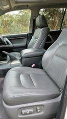 2011 Toyota Landcruiser VDJ200R MY10 Sahara White 6 Speed Sports Automatic Wagon