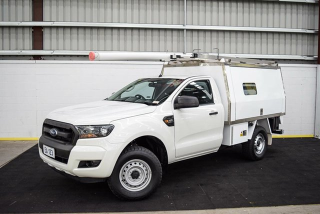 Used Ford Ranger PX MkII XL Hi-Rider Canning Vale, 2016 Ford Ranger PX MkII XL Hi-Rider White 6 Speed Sports Automatic Cab Chassis