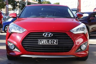 2012 Hyundai Veloster FS2 SR Coupe Turbo Red 6 Speed Sports Automatic Hatchback