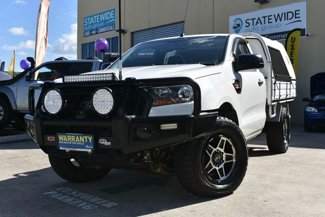Used Ford Ranger PX MkII MY17 XL 3.2 (4x4) Capalaba, 2016 Ford Ranger PX MkII MY17 XL 3.2 (4x4) White 6 Speed Automatic Cab Chassis