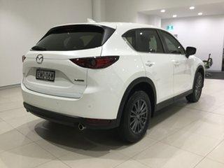 2020 Mazda CX-5 KF2W7A Maxx SKYACTIV-Drive FWD Sport Snowflake White 6 Speed Sports Automatic Wagon.