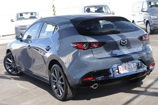 2019 Mazda 3 BP2H76 G20 SKYACTIV-MT Evolve Polymetal Grey 6 Speed Manual Hatchback.