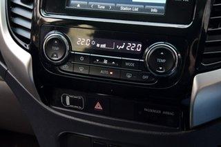 2015 Mitsubishi Triton MQ MY16 GLS Double Cab Black 6 Speed Manual Utility