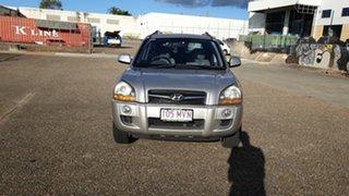 2008 Hyundai Tucson MY07 City Elite Silver 4 Speed Automatic Wagon