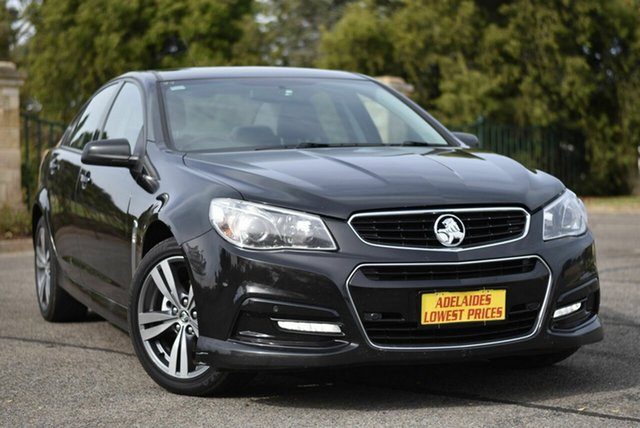 Used Holden Commodore VF MY15 SV6 Enfield, 2015 Holden Commodore VF MY15 SV6 Black 6 Speed Sports Automatic Sedan