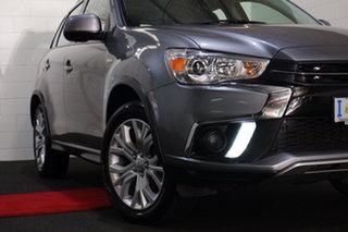 2018 Mitsubishi ASX XC MY18 LS 2WD Grey 1 Speed Constant Variable Wagon.