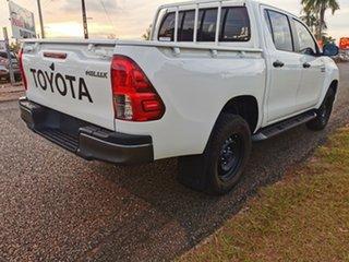 2018 Toyota Hilux GUN136R SR Double Cab 4x2 Hi-Rider White 6 Speed Manual Utility