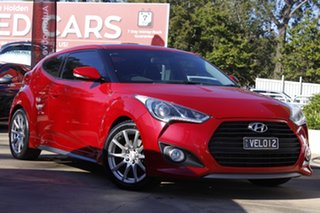 2012 Hyundai Veloster FS2 SR Coupe Turbo Red 6 Speed Sports Automatic Hatchback.